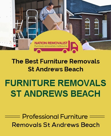 Furniture Removals St Andrews Beach