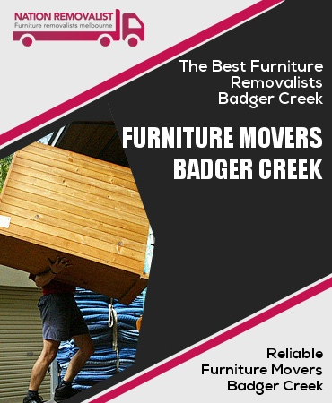 Furniture Movers Badger Creek