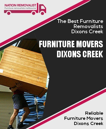 Furniture Movers Dixons Creek