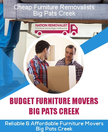 Cheap Furniture Removalists Big Pats Creek