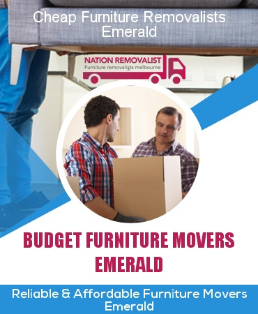 Cheap Furniture Removalists Emerald