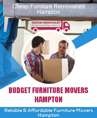 Cheap Furniture Removalists Hampton