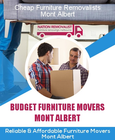Cheap Furniture Removalists Mont Albert