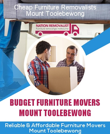 Cheap Furniture Removalists Mount Toolebewong