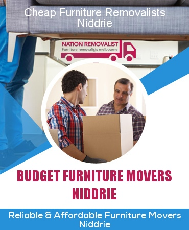 Cheap Furniture Removalists Niddrie