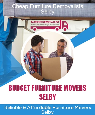 Cheap Furniture Removalists Selby