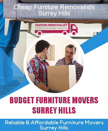 Cheap Furniture Removalists Surrey Hills